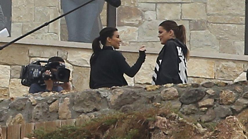 1. Bilder vom Set! Die Kardashians drehen wieder