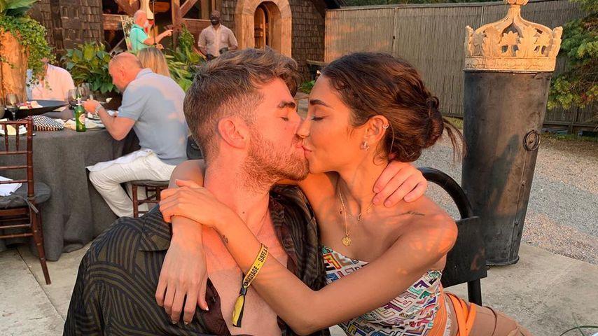 Drew Taggart und Chantel Jeffries im Juli 2020