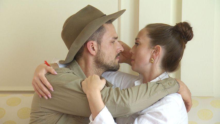 Dschungelcamp-Kandidat Marco Cerullo mit seiner Freundin Christina Graß