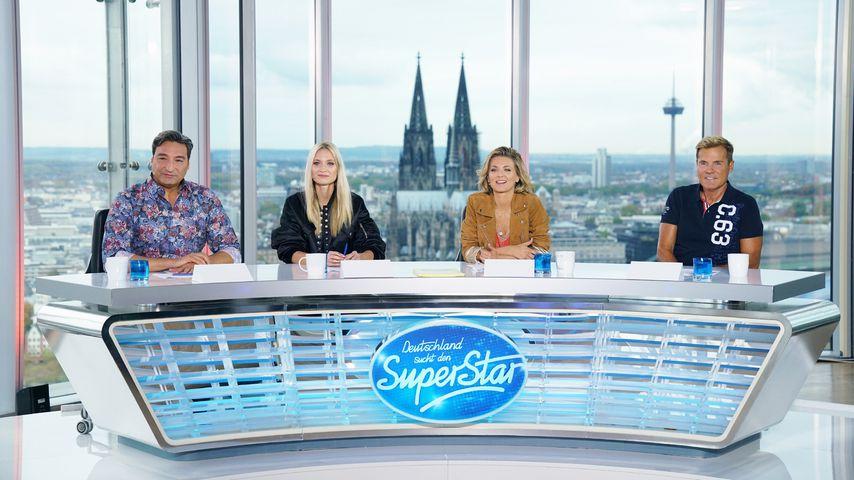 Mousse T., Carolin Niemczyk, Ella Endlich und Dieter Bohlen