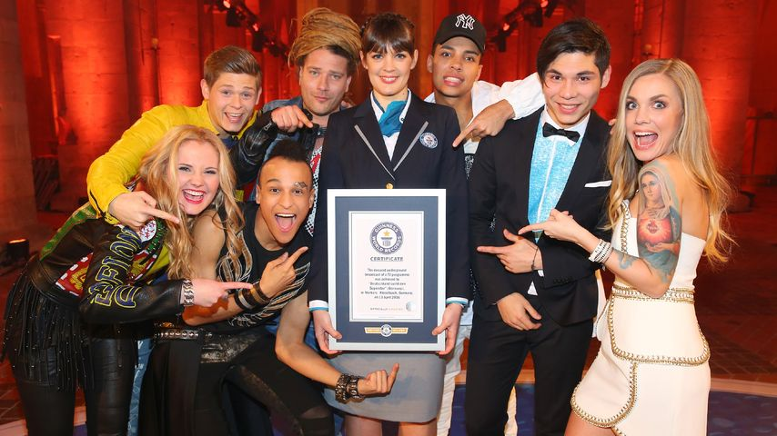 Rekord-Show in 500 Meter Tiefe: DSDS kommt ins Guinness-Buch