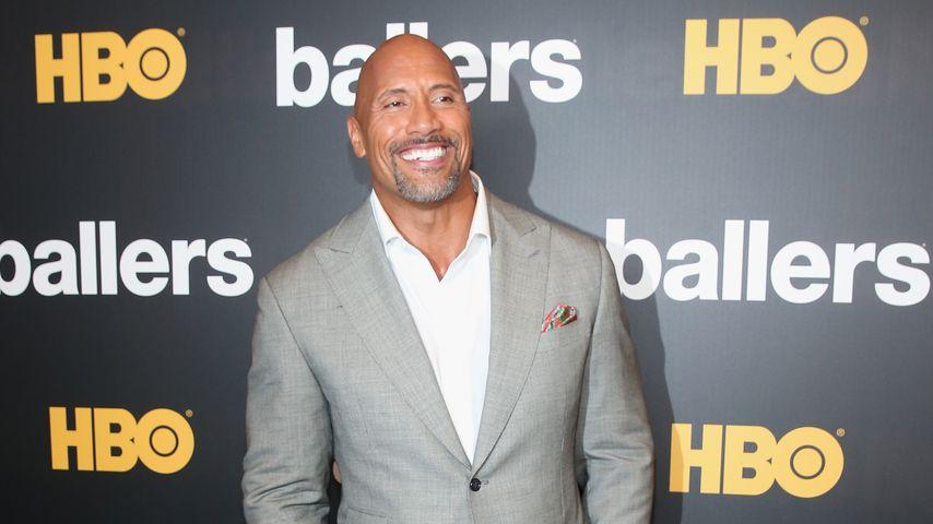 """Dwayne """"The Rock"""" Johnson bei einer Premiere in Miami"""