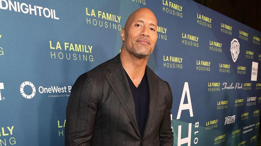 """Dwayne """"The Rock"""" Johnson, Schauspieler"""
