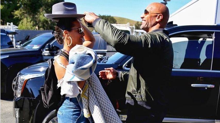 "Großes Lob: ""The Rock"" ist fasziniert von Alicia Keys!"