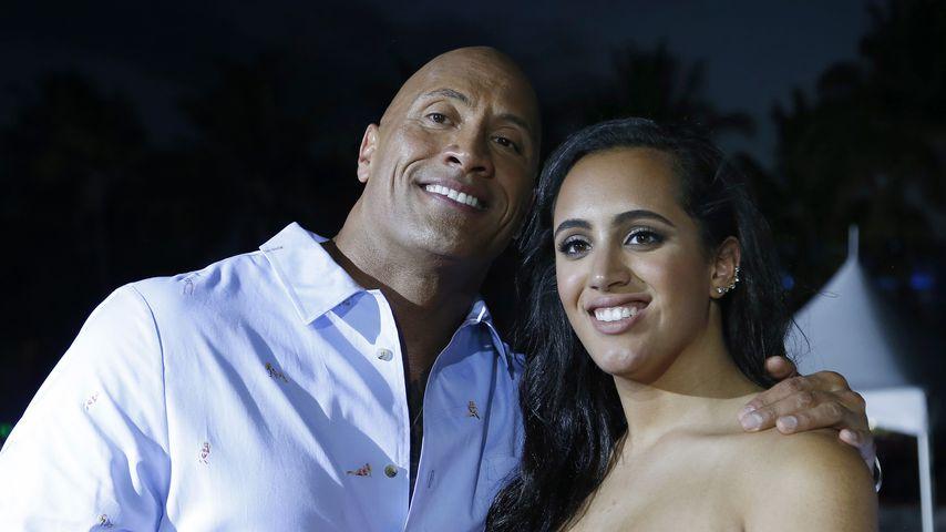 Dwayne Johnson und seine Tochter Simone