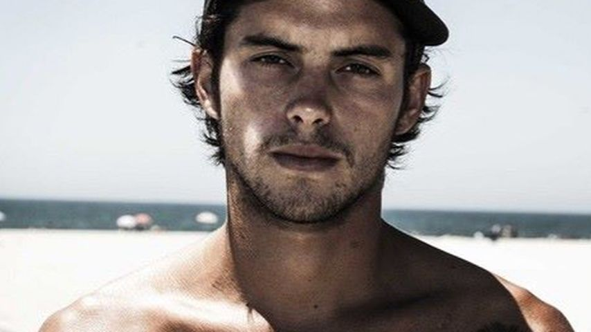Dylan Rieder am Strand