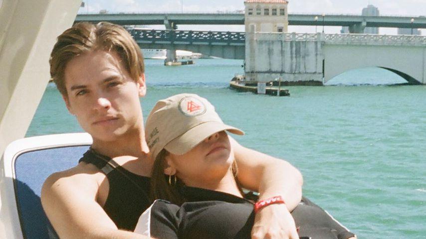 Dylan Sprouse und Barbara Palvin entspannen