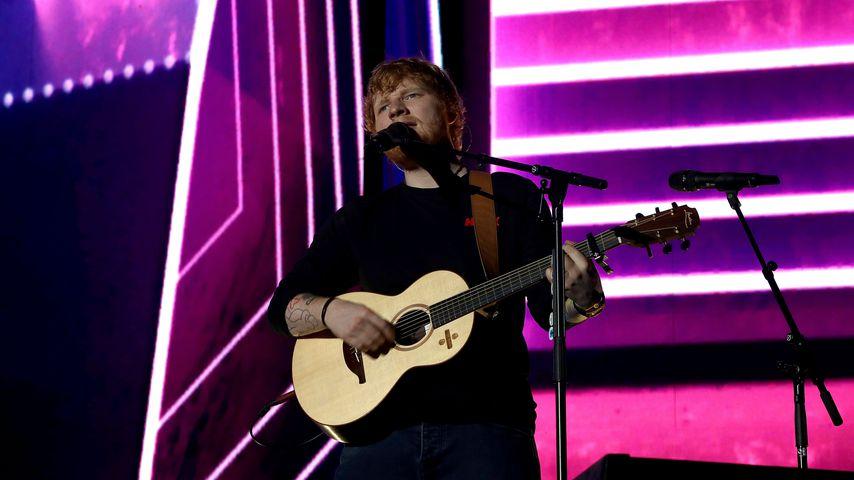 Ed Sheeran bei einem Konzert im März 2018
