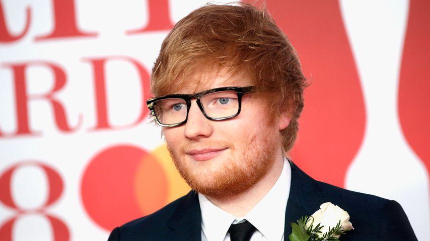 Ed Sheeran im Februar 2018 in London