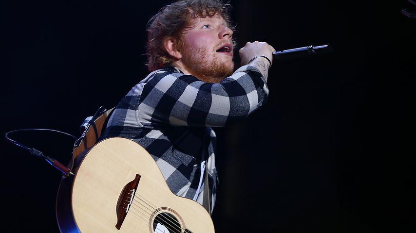 Ed Sheeran auf einem Konzert in Perth im März 2018
