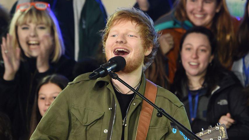 Süße Liebeserklärung von Ed Sheeran: Cherry ist DIE EINE!