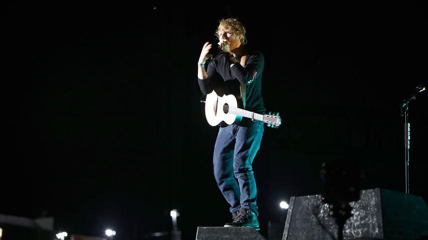 Ed Sheeran bei einem Auftritt in Neuseeland