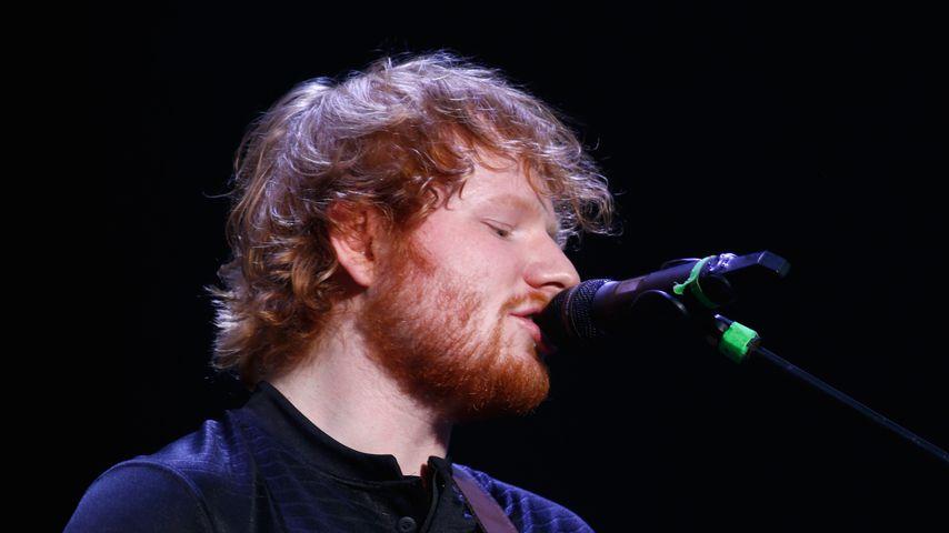 Ed Sheeran bei einem Auftritt 2015 in Neuseeland