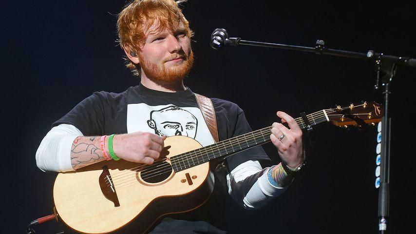 Ed Sheeran bei einem Konzert in den USA