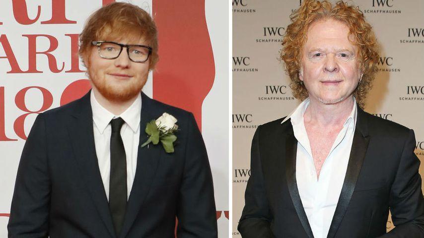 "Simply Red-Sänger nennt Ed Sheeran seinen ""Sohnemann"""