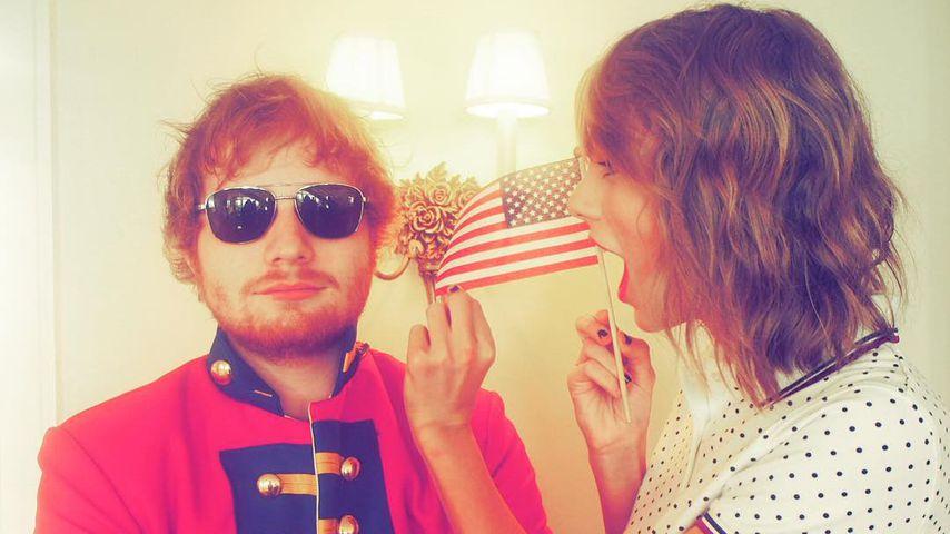 """Ed Sheeran: """"Taylor Swift will die größte Künstlerin werden"""""""
