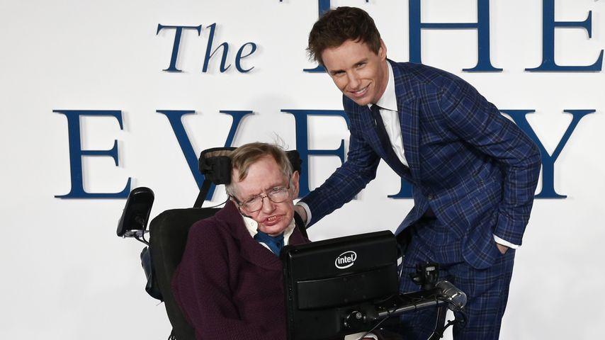 Stephen Hawking ist stolz auf Eddie Redmayne