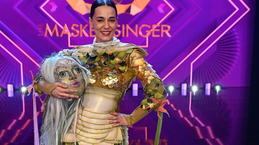 "Edita Malovcic als Donaunymphe bei ""The Masked Singer Austria"""