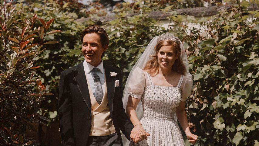 Edoardo Mapelli Mozzi und Prinzessin Beatrice im Juli 2020 in Windsor