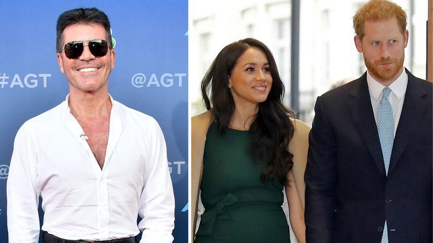 Arbeitet Simon Cowell mit Harry und Meghan an Netflix-Show?