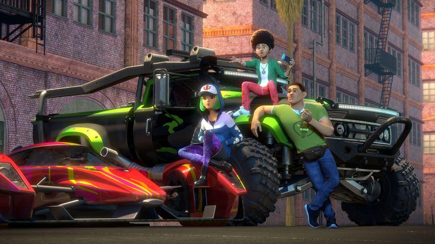 """Eine Szene aus """"Fast & Furious: Spy Racers"""""""
