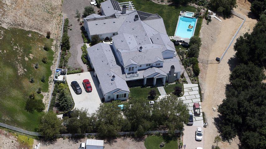 Eines von Kylie Jenners Häusern in den Hidden Hills, L.A.