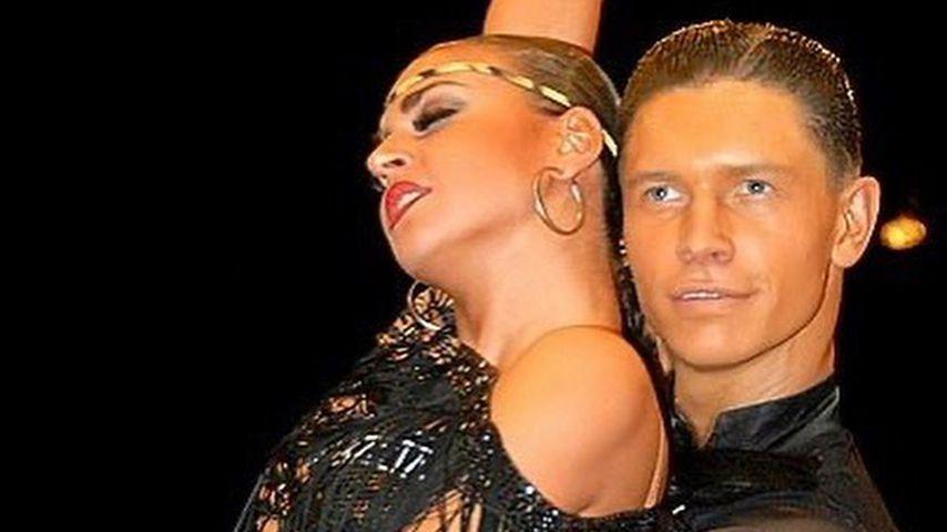 Ekaterina Leonova und ihr Tanzpartner Paul Lorenz
