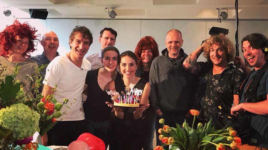 "Coole ""Let's Dance""-Crew: Ekaterina im Geburtstags-Glück"