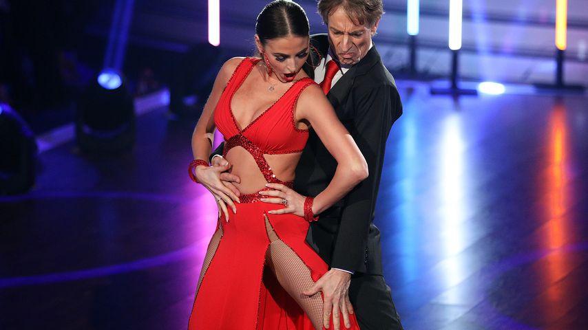 Ekaterina Leonova und Ingolf Lück bei ihrem Tango