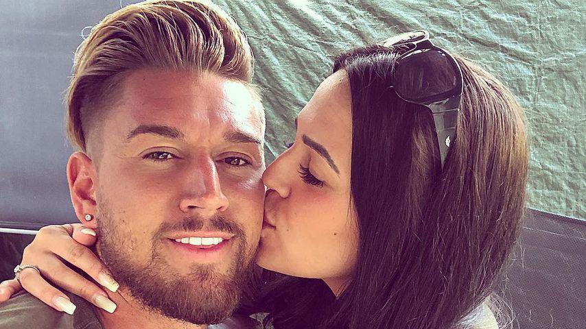 Von wegen Krise: Mike Heiter und Elena Miras total happy!