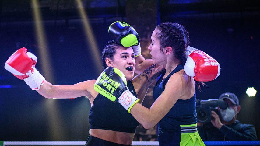Elena Miras und Anastasiya Avilova beim Promiboxen 2020