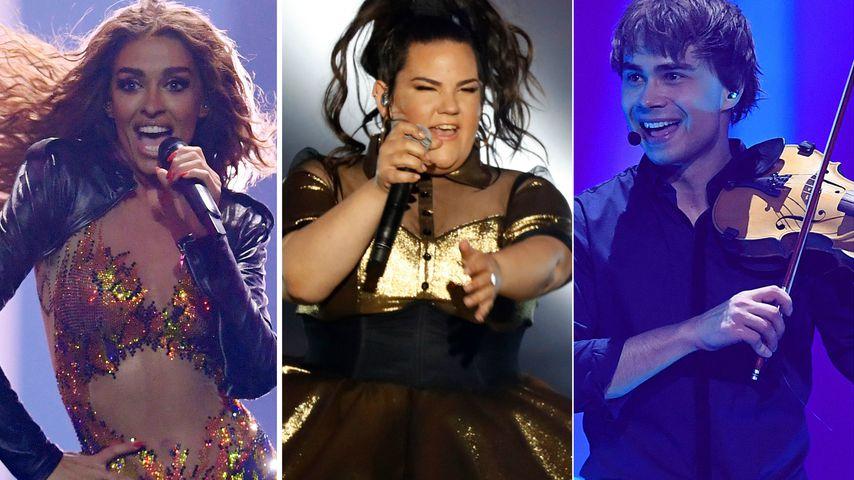 Eurovision Song Contest 2018: Das sind die drei Favoriten!