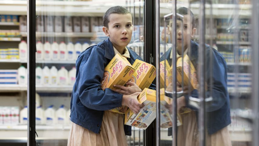 "Millie Bobby Brown in ""Stranger Things"""