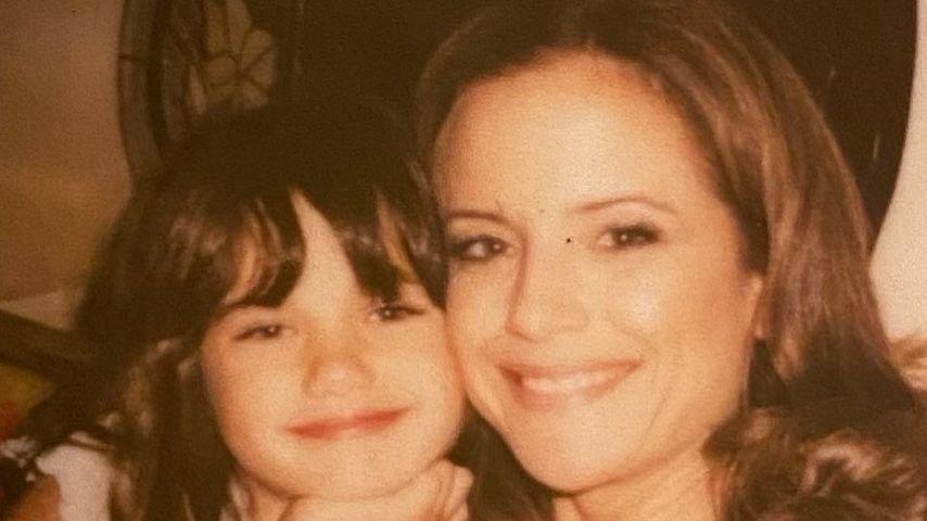 Ella Bleu Travolta und ihre Mutter Kelly Preston