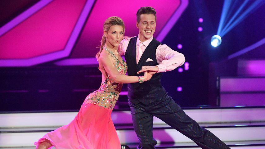 Ella Endlich und Valentin Lusin bei Let's Dance
