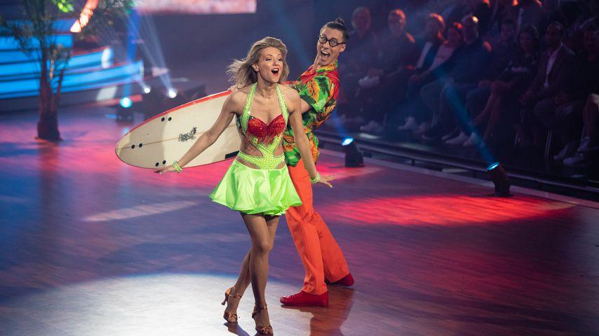 """Trotz """"Let's Dance""""-Punkt weniger: Ella und Valentin happy!"""