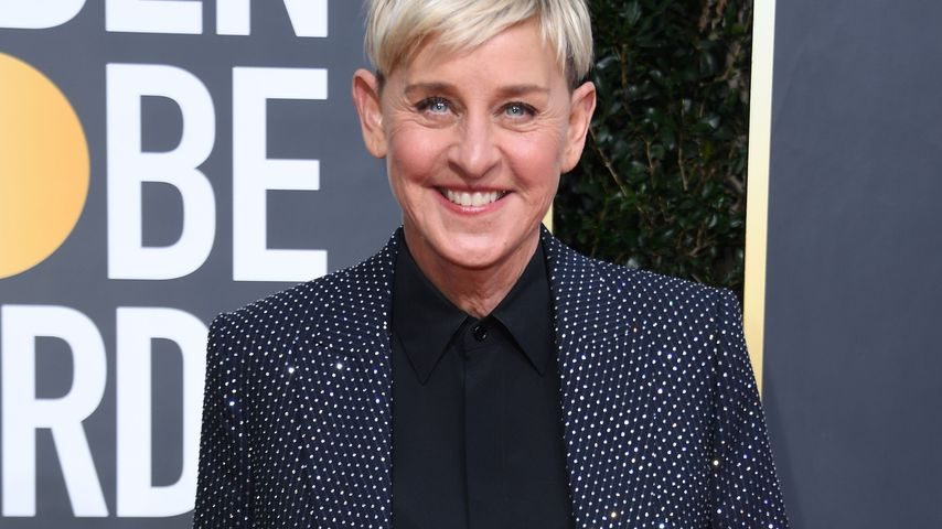 Ellen DeGeneres bei den Golden Globes in Beverly Hills im Januar 2020