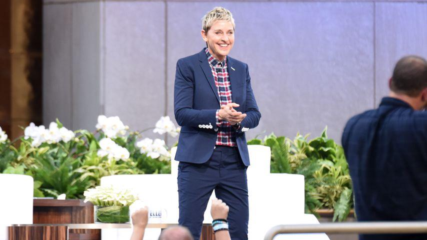 """Ellen DeGeneres in der """"The Ellen Degeneres Show"""" in NYC im September 2015"""