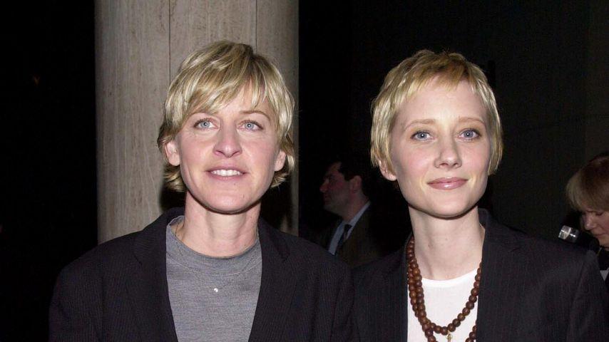 Ellen DeGeneres und Anne Heche im Jahr 2000