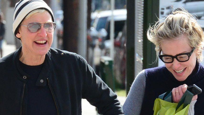 """Krise? Ellen DeGeneres & Portia kaufen ein """"Haus"""""""