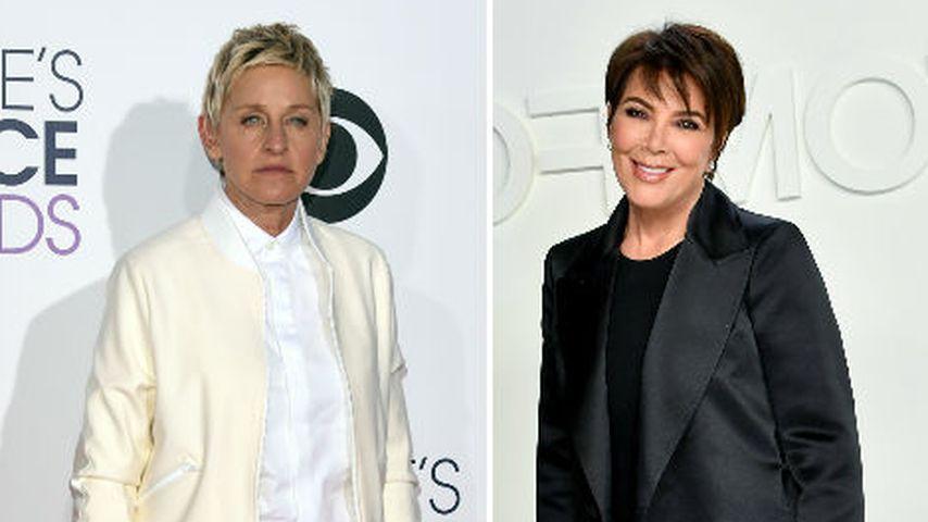 Ellen DeGeneres holt sich Comeback-Tipps von Kris Jenner