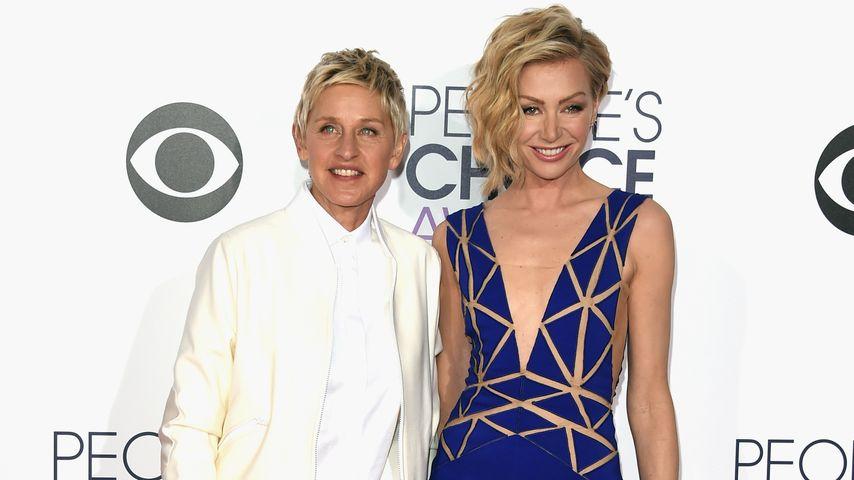 Ellen DeGeneres und Portia de Rossi