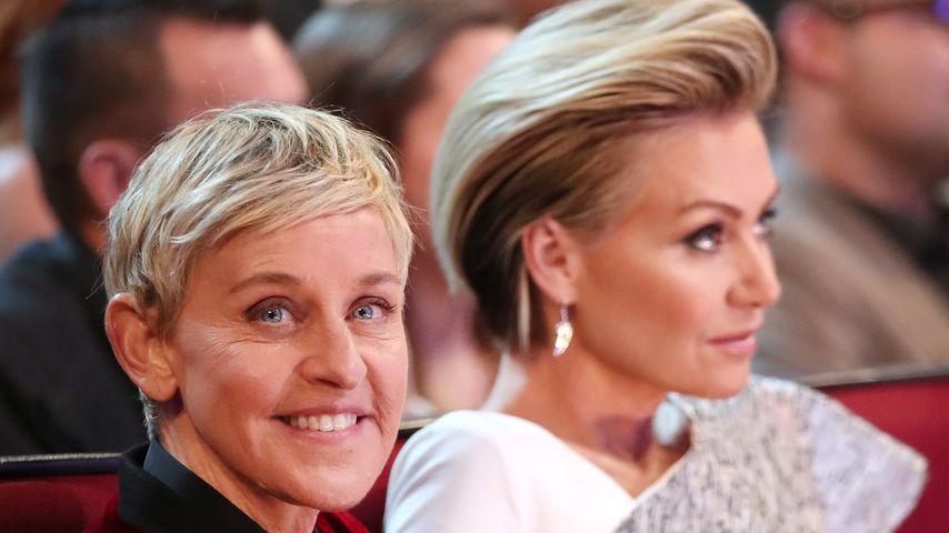 Ellen DeGeneres und Ehefrau Portia de Rossi