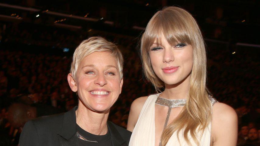 Ellen DeGeneres und Taylor Swift