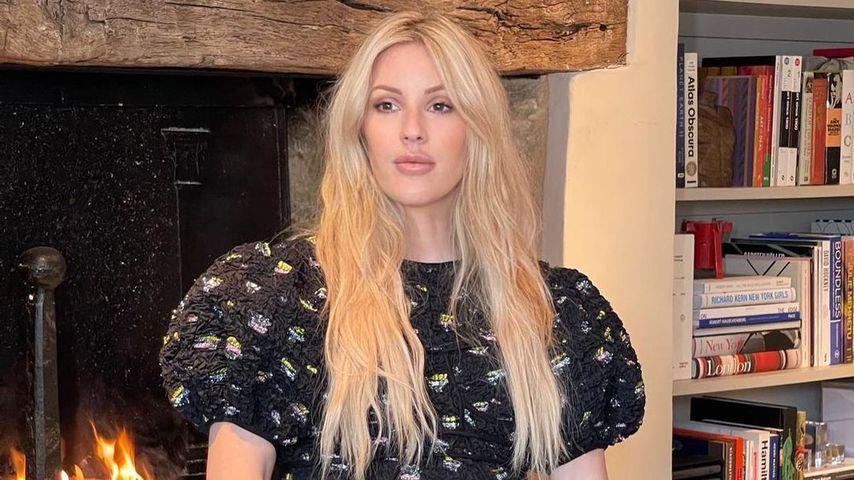 Ellie Goulding während ihrer Schwangerschaft, März 2021