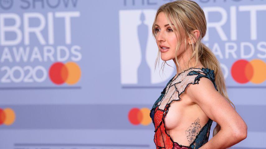 Sängerin Ellie Gouling bei den Brit Awards 2020