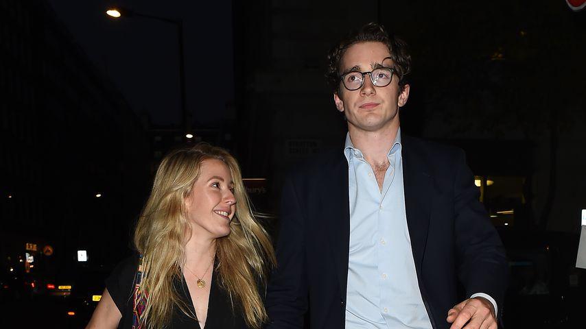 Ellie Goulding und Caspar Jopling im Juni 2018