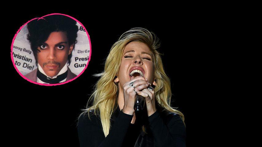 Rührende Hommage: Hier ehrt Ellie Goulding den toten Prince