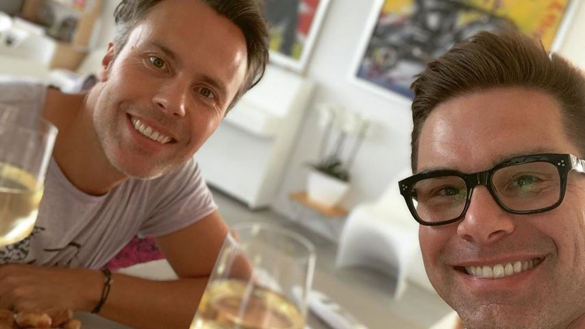 Eloy de Jong mit seinem Partner Ibo