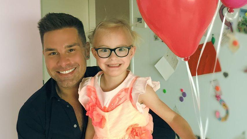 Eloy mit seiner Tochter Indy